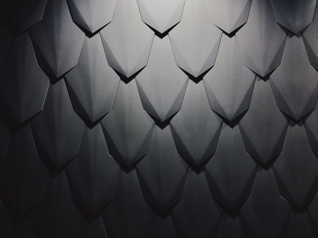 custom dragon scale concrete wall tiles