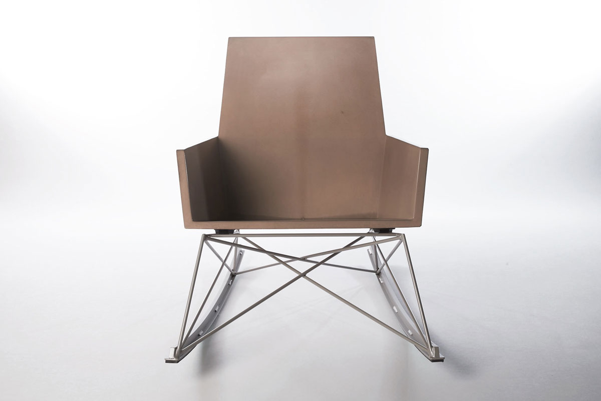 GFRC Outdoor Rocking Chair for the Modern World