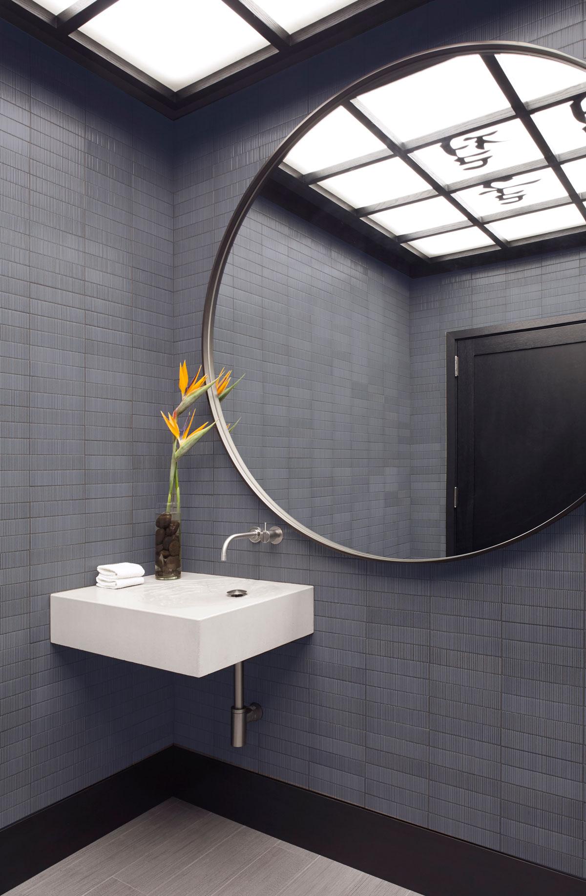 The wabi sabi modern Concrete Erosion Sink by Hard Goods, first designed by Brandon Gore in 2006